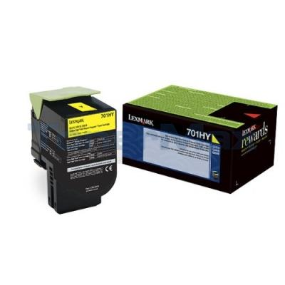 LEXMARK CS410 RP TONER CARTRIDGE YELLOW 3K